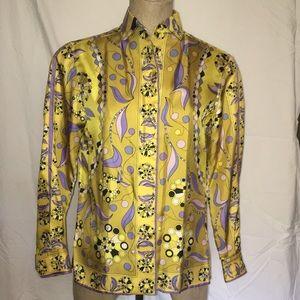 Vintage Pucci silk blouse